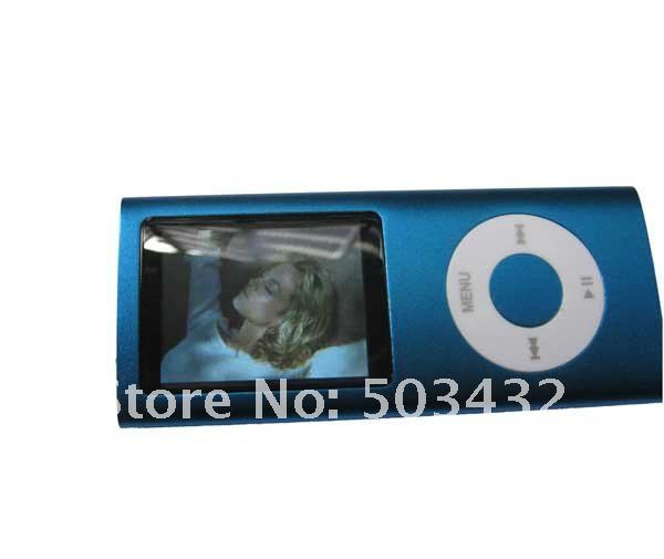Wholesale 4th Generation gen MP3 MP4 Digital Music Player Real Memory 2GB 1.8'' screen FM Game Function Free HK Post, 1pc