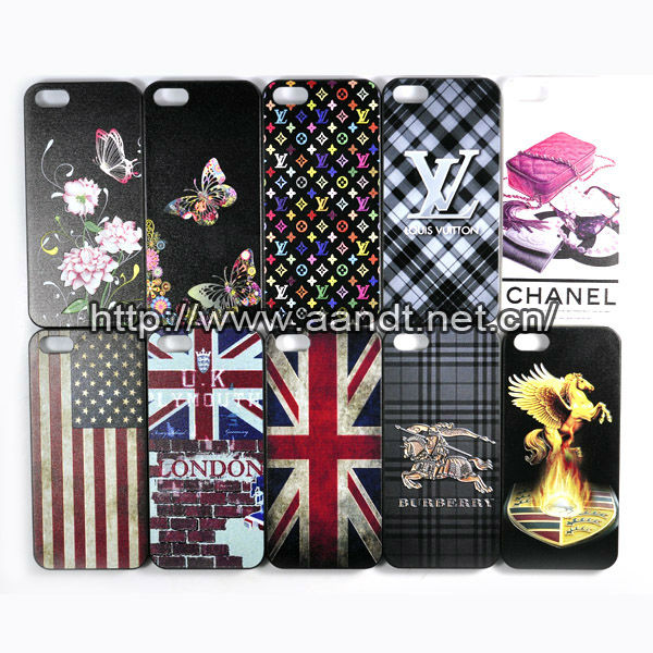 New designer plastic cover for iphone5/plastic cover for iphone 5