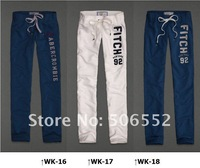 Lady fall cigarette pants women straight trousers womens Pure cotton fleeces cultivate one's morality female health pants
