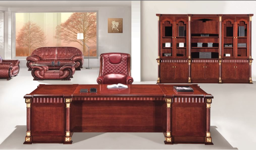 Antique Wooden Office Furniture