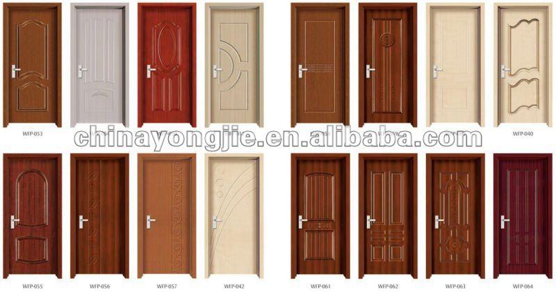 Bedroom Pvc Wooden Door Colorwfp 010 Buy