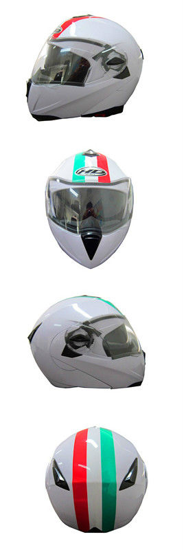 HuaDun flip up helmet with double visor for hot sale HD-701