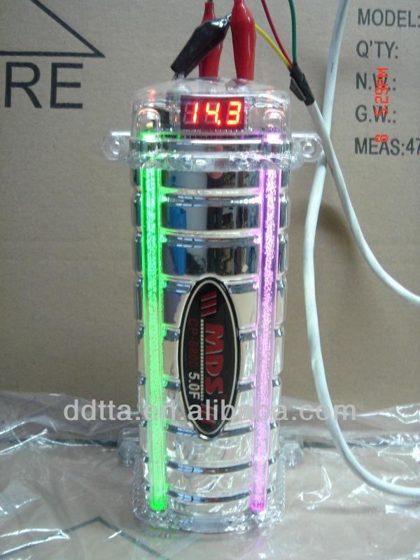 car audio capacitor 3.0F/4.0 farad ,electrolytic capacitor