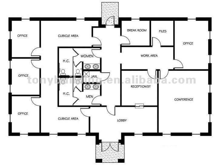 مبنى المكاتب الجاهزة تصميم مبنى مكتب خريطة تصميم جاهزة مخطط مباني حديدية تصاميم