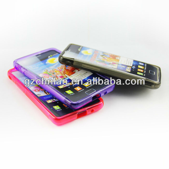 S line tpu case for Galaxy S2