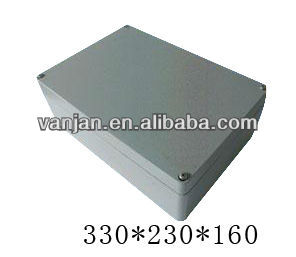 2013 Newest brushed aluminum box for terminals 260*185*128
