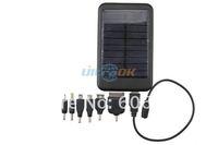 Зарядное устройство для мобильных телефонов 5000mAh Mobile Solar Power Bank External Battery Charger for ipad/iphone Black/Silver