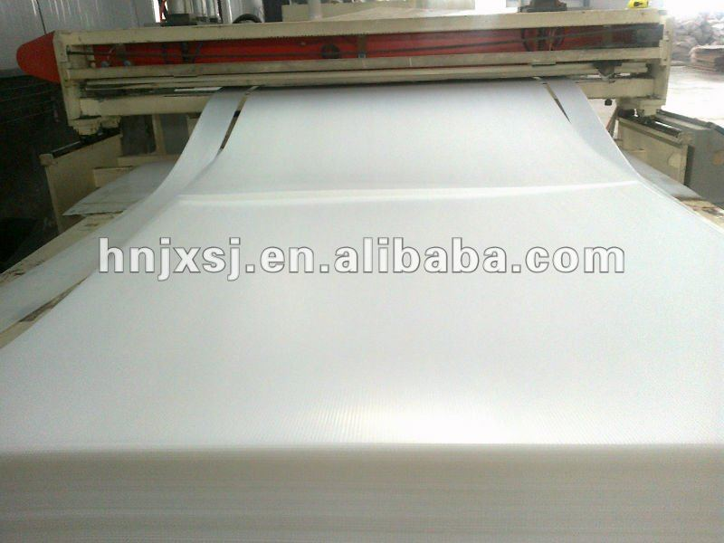 Polypropylene flexible plastic sheets