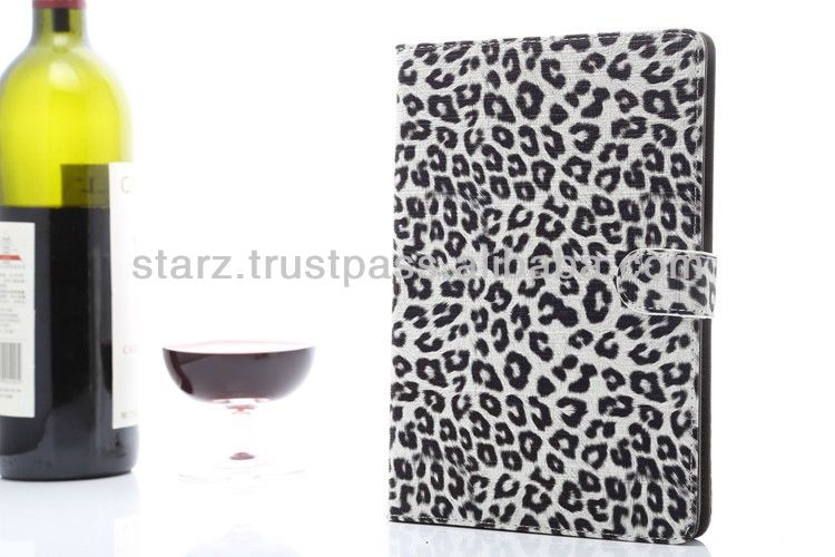 New Luxury Leopard Leather Cover For iPad mini 2