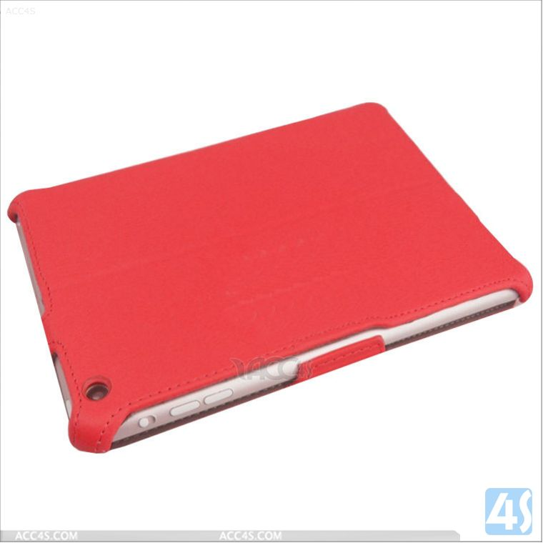 Thermal styling pu leather flip case for ipad mini retina display