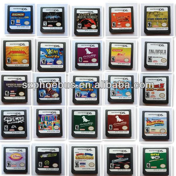paypalが受け入れるビデオゲームカートリッジds用カートリッジマリオのゲームカード問屋・仕入れ・卸・卸売り