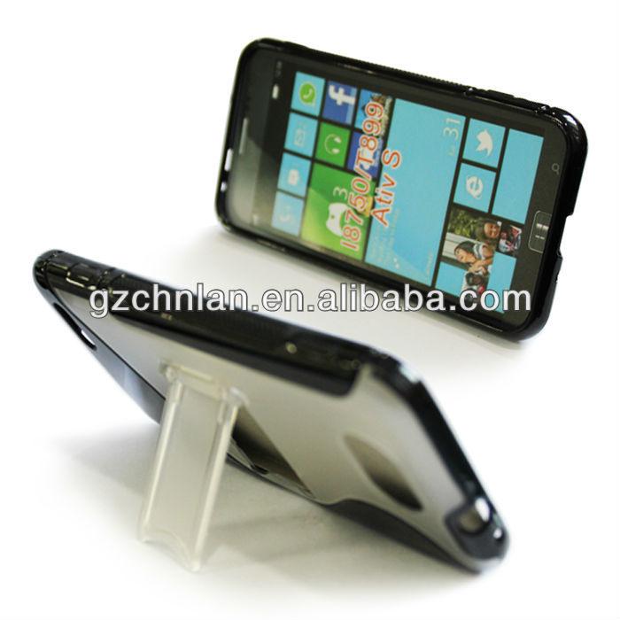 For samsung Omnia Odyssey i8750/T899 Ativ S tpu+pc case