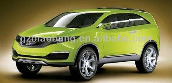 Metallic Green Cars Metallic Panted Car 580g