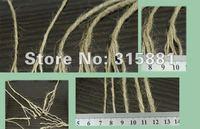Упаковочная веревка DIY natural color hemp rope Dia:3mm 1lot/350M