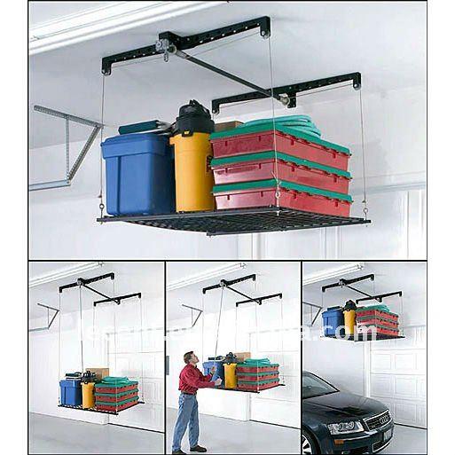 Rangement Plafond Garage  Huishoudelijke Apparaten Gallery