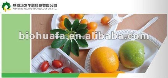 Bio plastic food tray