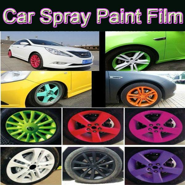 car spray paint film car wheel modification wheel hub spray membranes. Black Bedroom Furniture Sets. Home Design Ideas