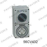Электрическая вилка FAVOR.E 32A 4 pin & 56CV432