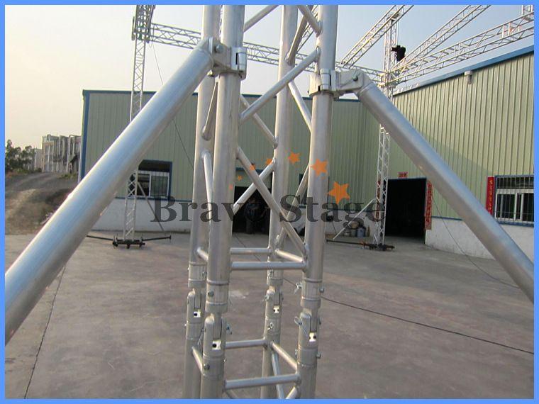 Алюминиевый этап фермы, цапфа ферма, ферма лифт башня