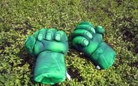 Новый косплей Халк разбить руку мягкой плюшевой перчатка, большой подарок для детей