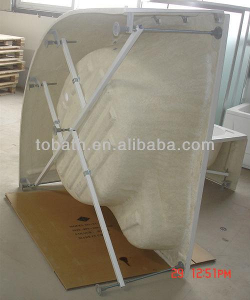 Freestanding Cheap Acrylic Simple Bathtub GW-B02