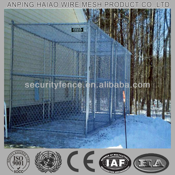 chain link fence dog kennels
