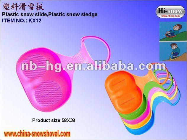 KX12 Plastic snow sledge.jpg