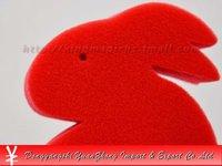 Free shipping! Sponge rabbits/Magic rabbits/Magic props/Magic tricks Set--Jumbo Sponge Rabbit