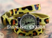 Наручные часы Sell Like Cakes! s European And American Style Leopard Print Dermis Watch / Fashion Ladies Casual Watches