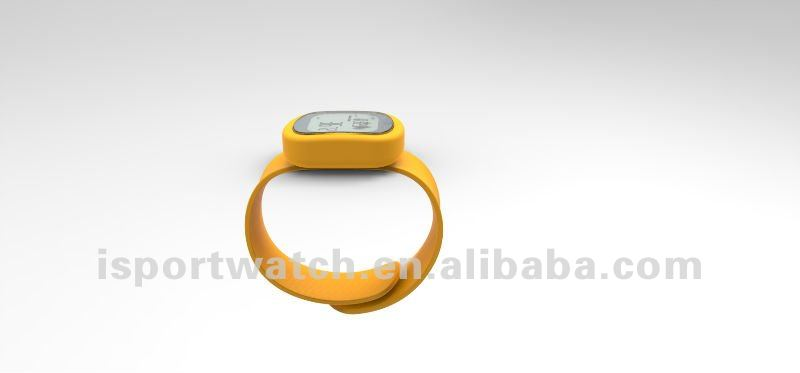 New Coming 3D G Sensor Wrist Band Step Counter