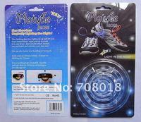 bule LED Flashing Shoelace, LED Bootlace Latchet Lace Shoestring, led flashing shoestring