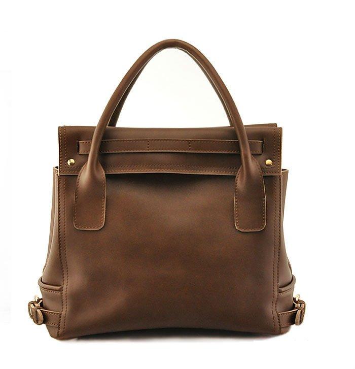 Top Fashion! Original 2011 Ladies Newest Design Genuine Leather Italy Handbags Style