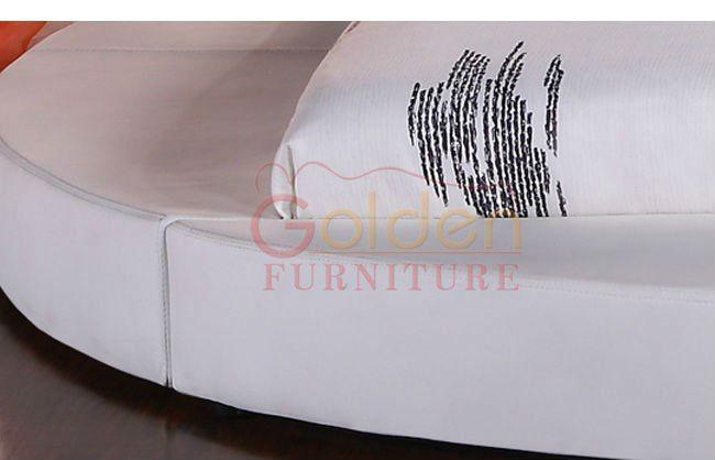 새로운!!! b6804# 킹 사이즈 원형 침대 현대적인 플랫폼-침대 -상품 ...
