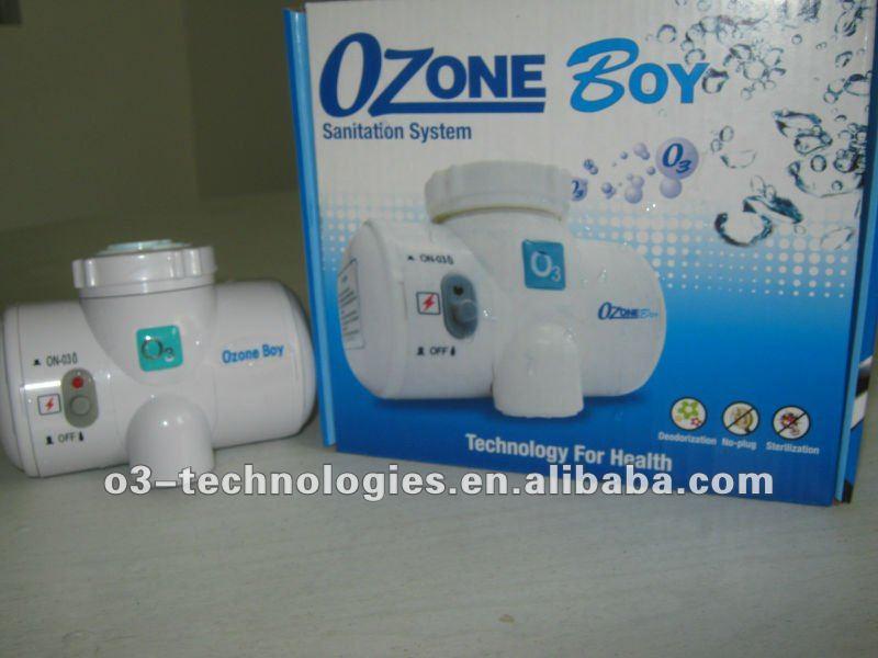 Ovocie Balenie & spa ošetrení vodou riediteľná vodou mikróby Ozone sterilizátor na jedlo