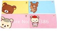 Free Shipping/New Cute cartoon Rilakkuma envelopes & letter paper (2 pcs + 4 pcs) Set / Fashion Stationery