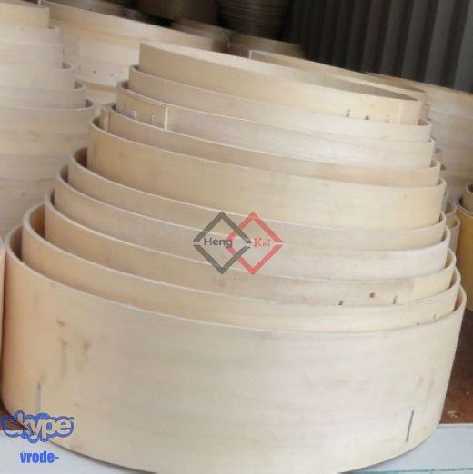 Wooden garden sieve