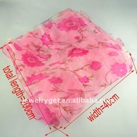 Женский шарф New Fashion Spring Lace Jewelry Scarf Elegant Flower Scarves, NL-1522