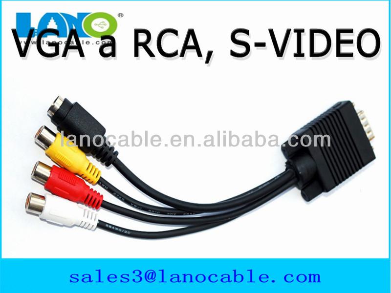 high quality rca vga/vga rca