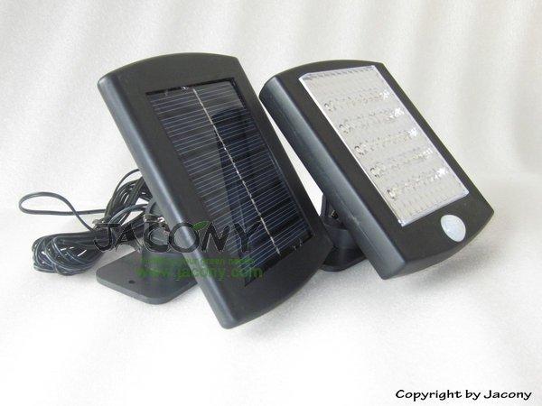 Настенный светильник на солнечной энергии