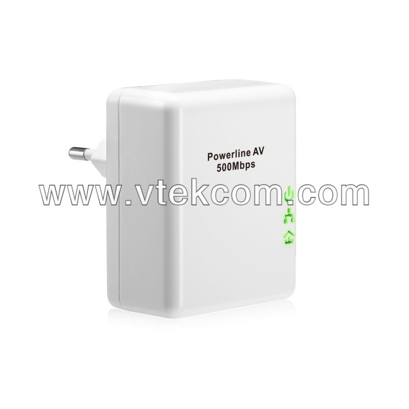 Powerline adapter for home networking product plc adapter 500mbps
