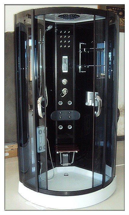 Cabina De Baño Con Tina:bajo la tina de baño de cristal de la ducha habitación-Cuartos Ducha