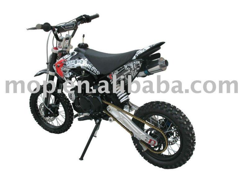 125cc Lifan Engine Dirt Bike,Manual Dirt Bike With Kick Start