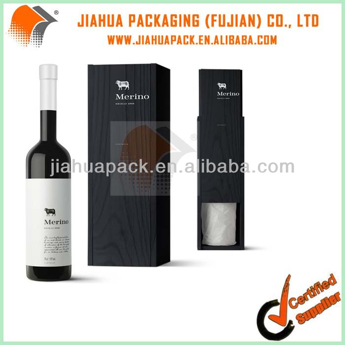 cardboard wine carrier box can be assembled