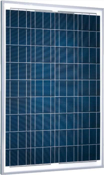 80W poly crystalline solar panel