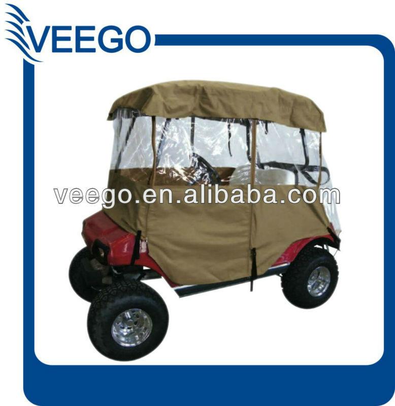 GOLF CART RAIN COVER FOR 2 PASSENGER GOLF CART, EZGO, CLUB CAR, YAMAHA