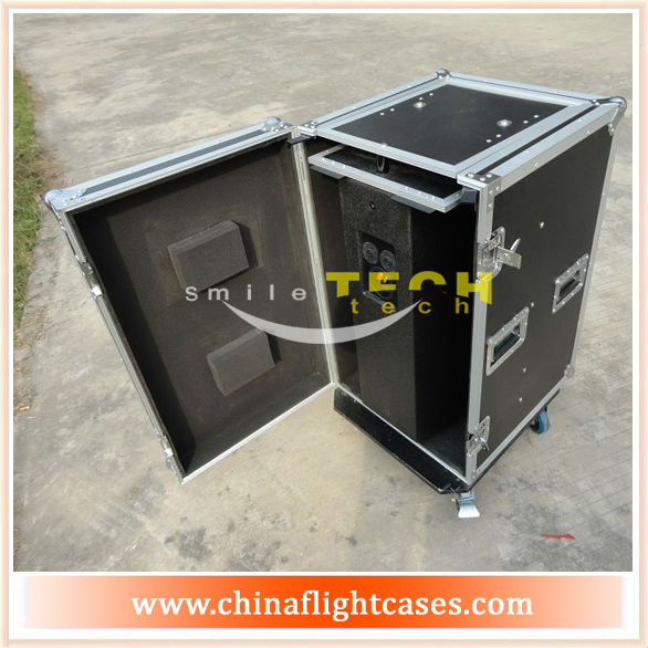 Smile Tech Packer Road Case-medium Speaker with Caster FOR medium Speaker
