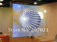 Проекционный экран Dark grey Rear adhesive film Holographic Screen for window display or exhibition useage, vivid effect