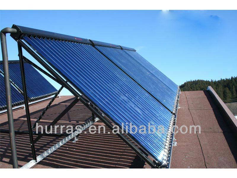 horizontal vacuum tube solar collector ,swimming pool solar collector