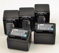 2PCS DSTE 2950mAh BP/727 BP727 Camera Battery For Canon VIXIA HF R30 VIXIA HF R300+1Charger131 Freeshiping