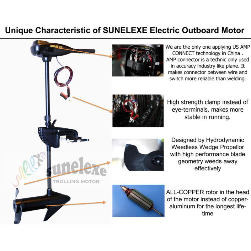 Sm L48 Sunelexe Electric Outboard Trolling Motor Buy